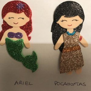 Ariel e Pocahontas