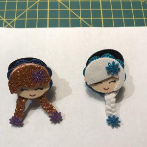 Elastico piccolo Anna e Elsa